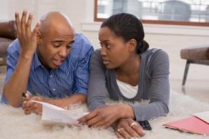 black-couple-quarreling