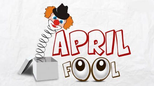 APRIL FOOLS DAY… SORRY, NO TIME!